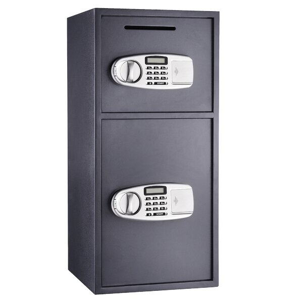 Paragon Safes Double Door Digital Depository Safe With Electronic Lock Reviews Wayfair