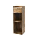 Mckissick Yak about It Extra Tall 1 Drawer Nightstand by Rosalind Wheeler