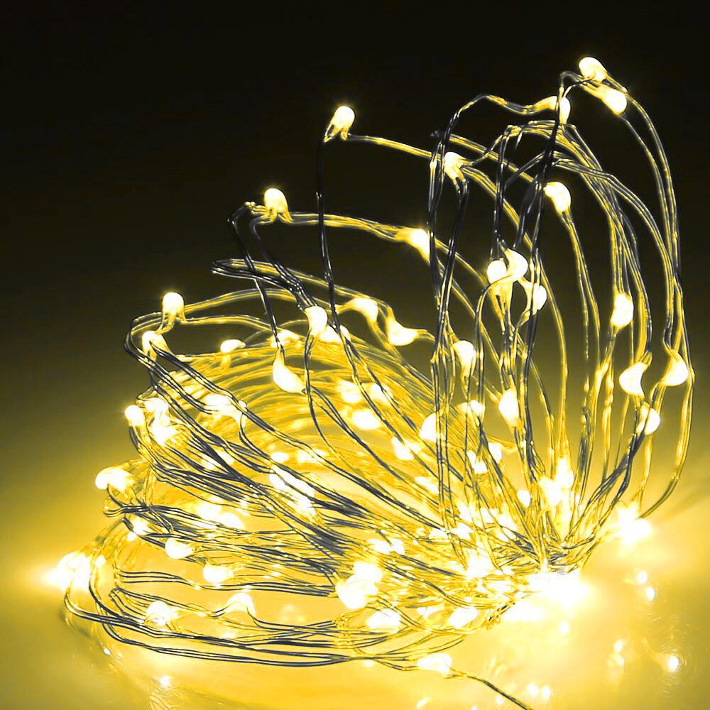 The Party Aisle 98 Outdoor Led 300 Bulb Fairy String Light Reviews Wayfair Ca
