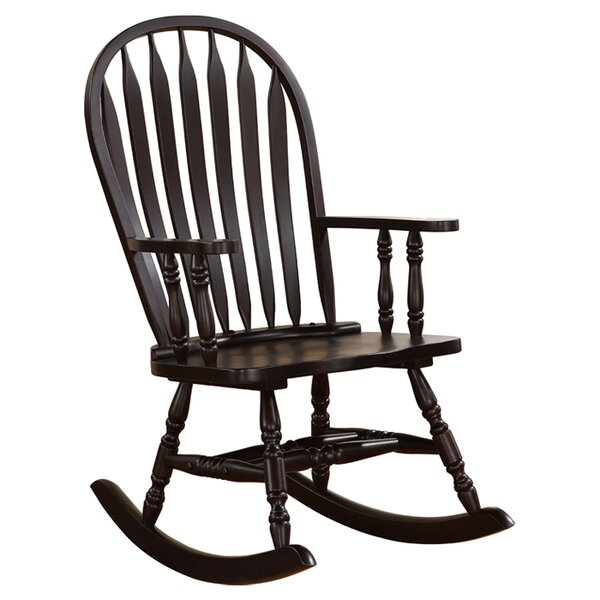 Fantastic Wood Rocking Chairs Creativecarmelina Interior Chair Design Creativecarmelinacom