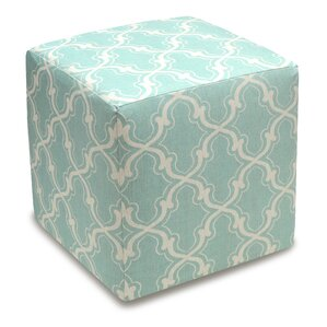 Trellis Cube Ottoman by 123 Creations