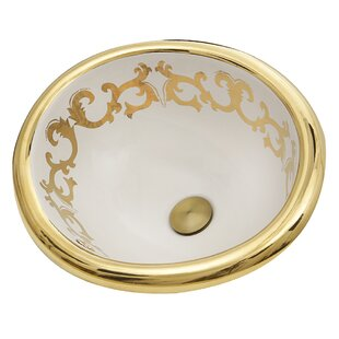 Shopping for Regatta Ceramic Oval Drop-In Bathroom Sink with Overflow By Nantucket Sinks