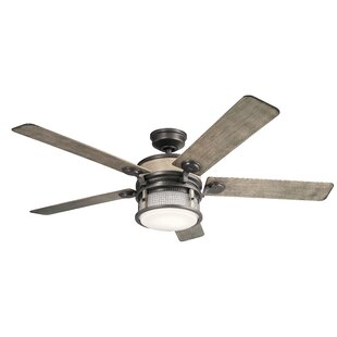 Best Reviews 60 Sherita 4 Blade Outdoor LED Ceiling Fan By 17 Stories