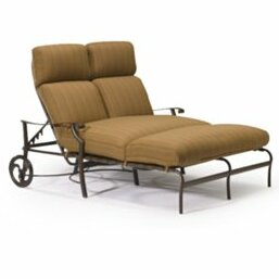Tropitone Montreux Double Reclining Chaise Lounge with Cushion