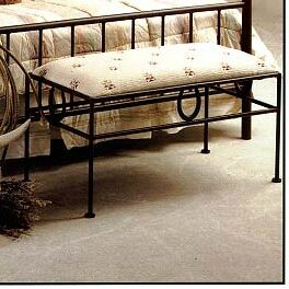 Grace Collection Frontier Upholstered Bench