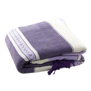 Millwood Pines Weare Lavender Warmth Cotton Bedspread