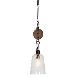 Gracie Oaks Wabansia 1-Light Cone Pendant
