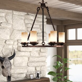 Loon Peak Rowan 6-Light Shaded Chandelier