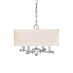 Remington Lamp Company 4-Light Drum Chandelier