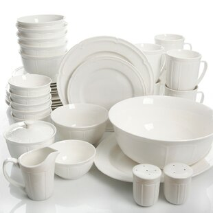 Kirton 37 Piece Dinnerware Set, Service for 6