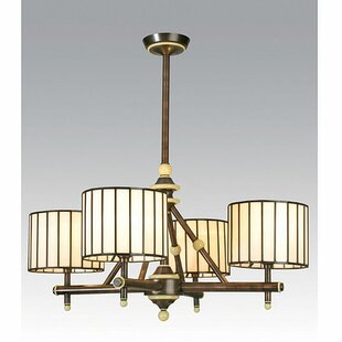 Meyda Tiffany Revolution 4-Light Shaded Chandelier