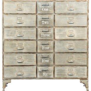 Zentique 18-Drawer Cabinet