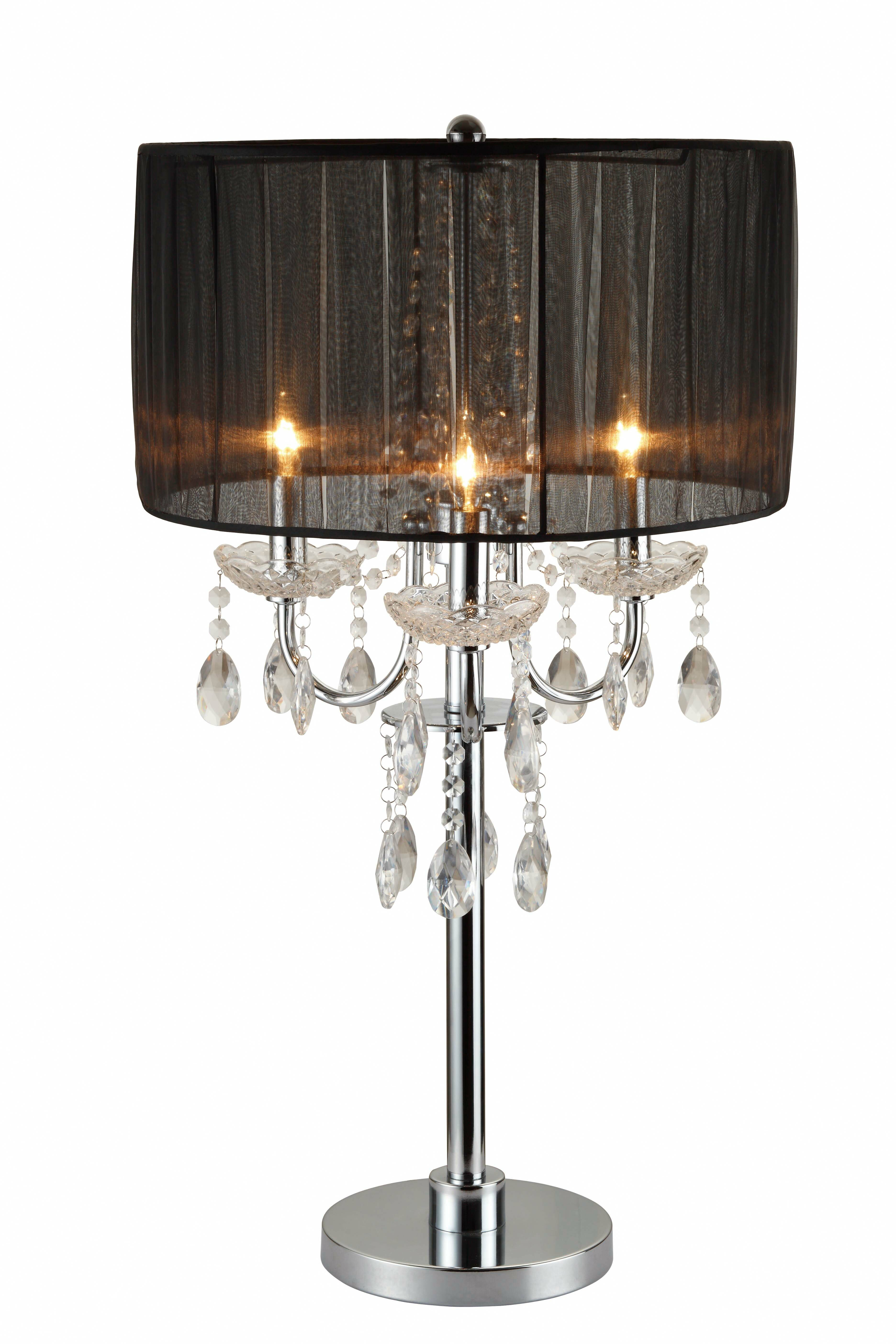 House Of Hampton Viers Chandelier Touch 29 Table Lamp Reviews