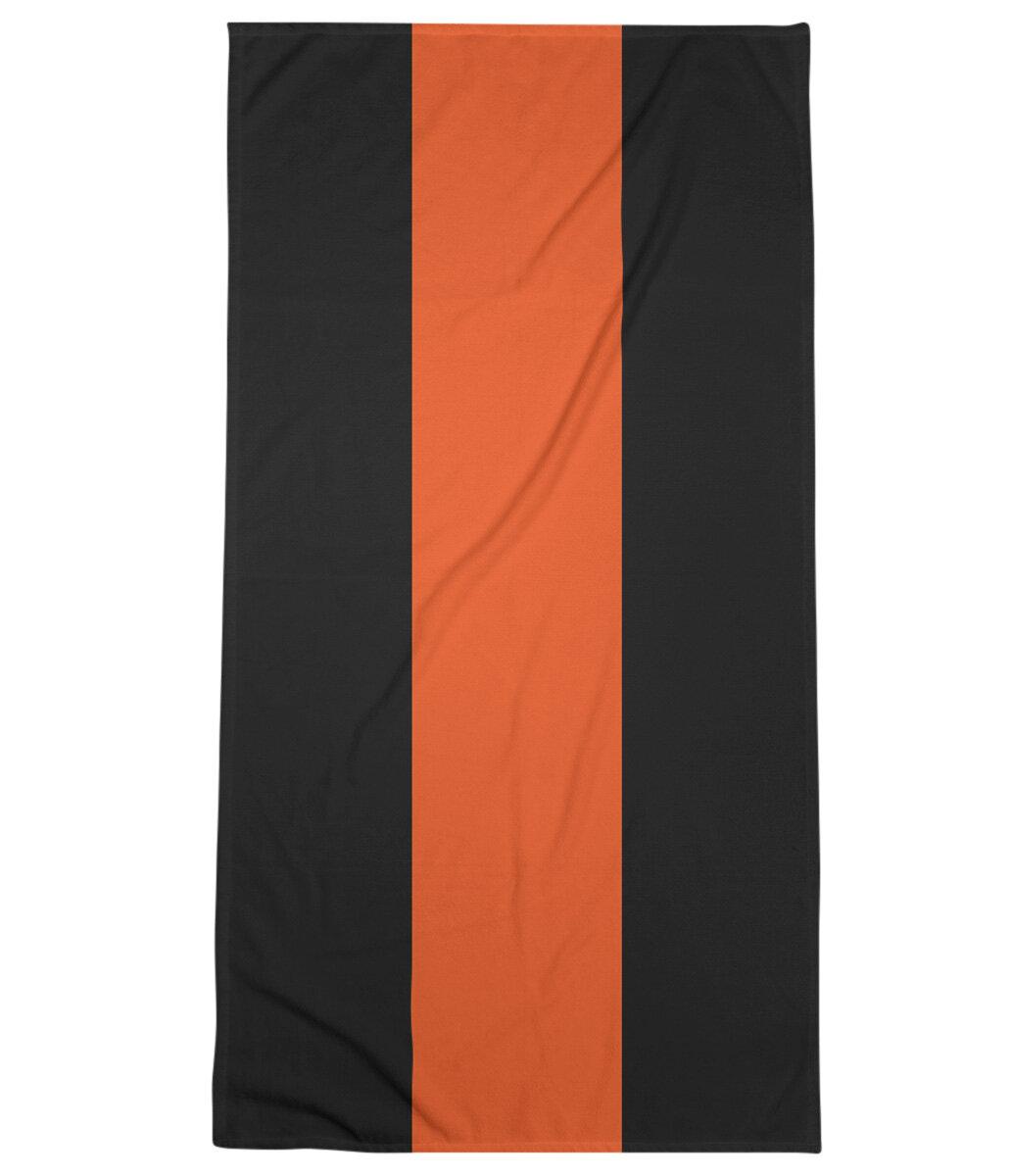 Cincinnati Football Stripes Bath Towel
