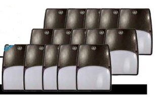 Catalina 19-Watt LED Dusk to Dawn Outdoor Security Wall Pack (Pack of 15) (Set of 15) by Lumight