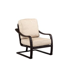 Outdoor Masterpiece Palms All Weather Woven Club Chair with Cushions