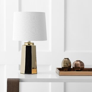 Gold base table lamp wayfair hirschman 1725 table lamp aloadofball Images