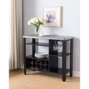 Ebern Designs Mcallister Wooden Buffet Table