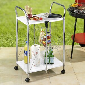 Sunny Kitchen and Utility Trolley Bar Cart by Wenko Inc
