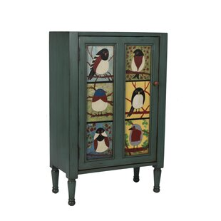 Pati B Bird Cupboard Accent Cabinet