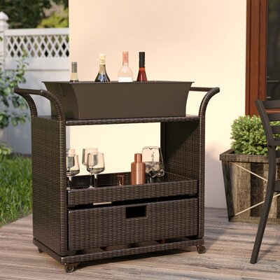 Lacey Bar Serving Cart by Mercury Row Best Choices