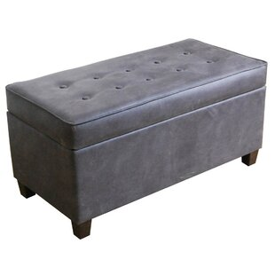 Bourdeau  Storage Bench by Charlton Home