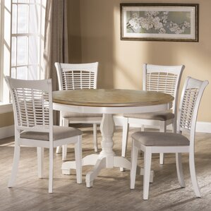 Silsden 5 Piece Dining Set by Red Barr..