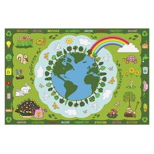 Compare prices Fun Time Go Green Kids Rug By Fun Rugs