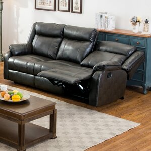 Roundhill Furniture Novia Reclining Sofa Image