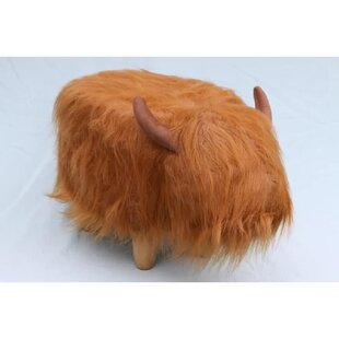 Dillis The Highland Cow Footstool By Gardeco