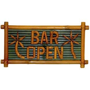Porter Bar Open Garden Sign by Bay Isle Home