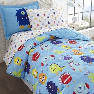 Monsters Comforter Set
