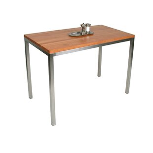 Metropolitan Designer Prep Table With Butcher Block Top by John Boos Wonderful