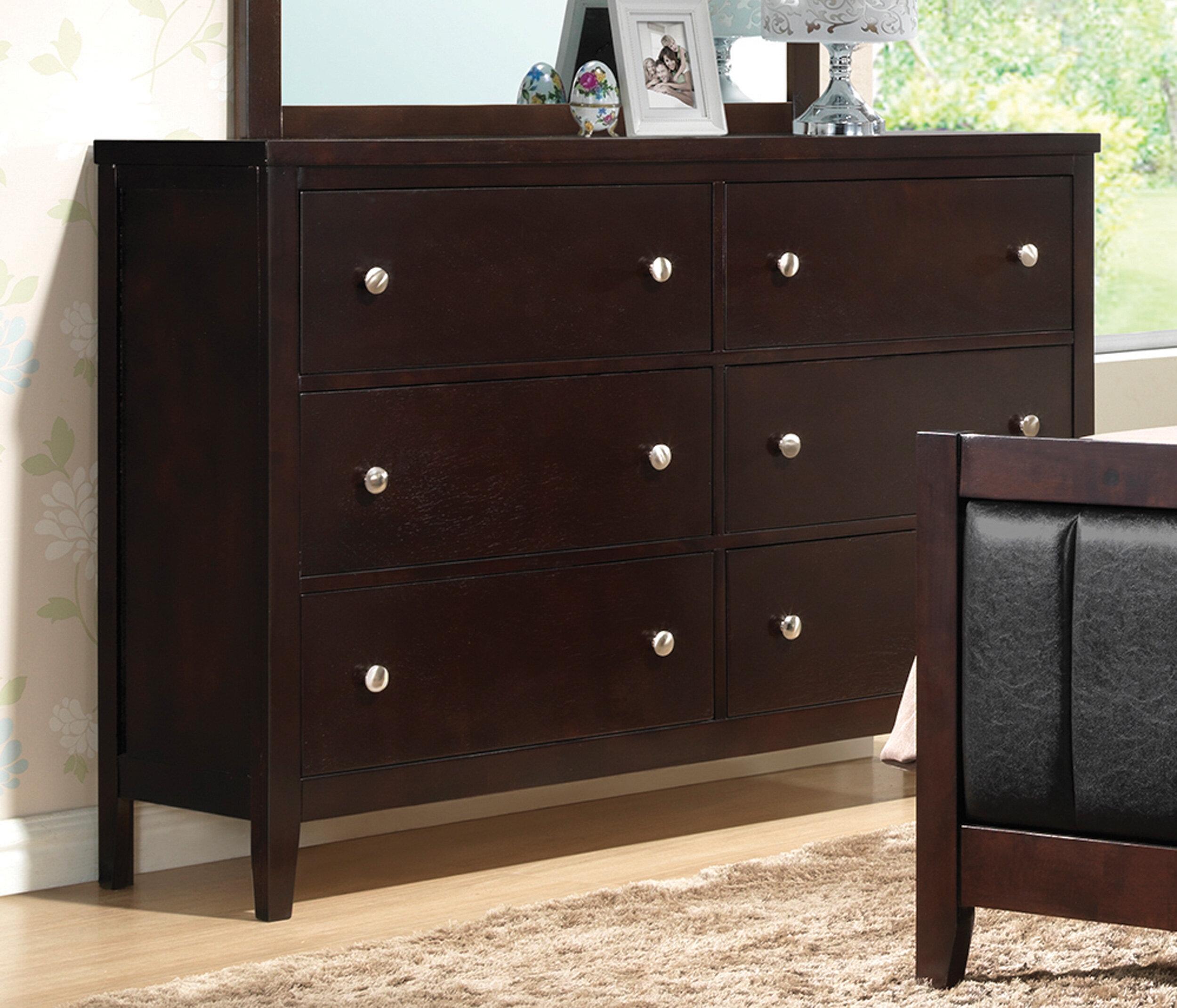 Red Barrel Studio Boden 6 Drawer Double Dresser Reviews Wayfair
