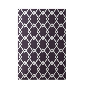 Buy Geometric Purple Indoor/Outdoor Area Rug!
