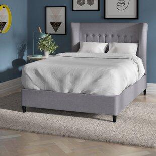 Silke Upholstered Bed Frame By Brayden Studio