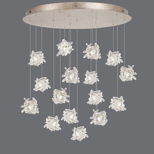 Fine Art Lamps Natural Inspirations 16-Light Cluster Pendant