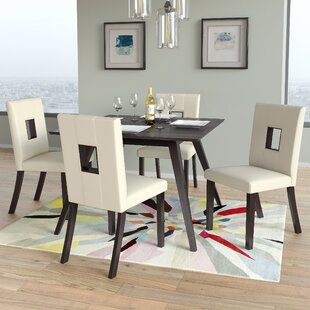 Affordable Price Burgess Parsons Dining Chair (Set of 2) by Red Barrel Studio Reviews (2019) & Buyer's Guide