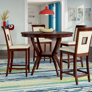 Deherrera 5 Piece Counter Height Dining Set
