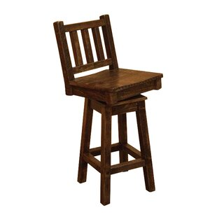 Millwood Pines Angelica Swivel Bar Stool