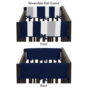 Stripe Side Crib Rail Guard Cover