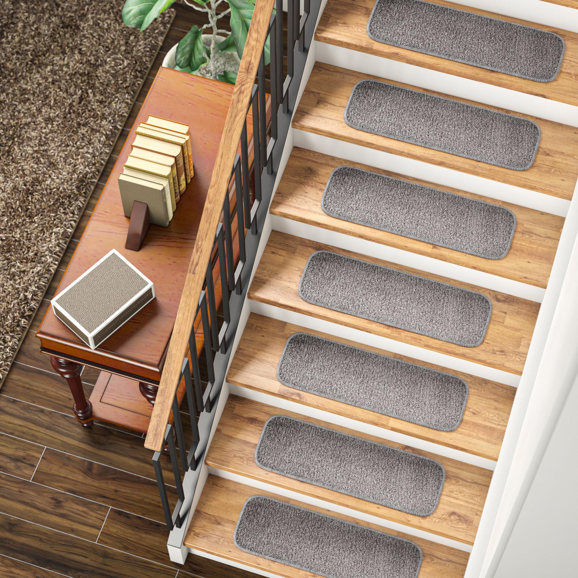 Winston Porter Thedford Stair Tread Reviews Wayfair Ca