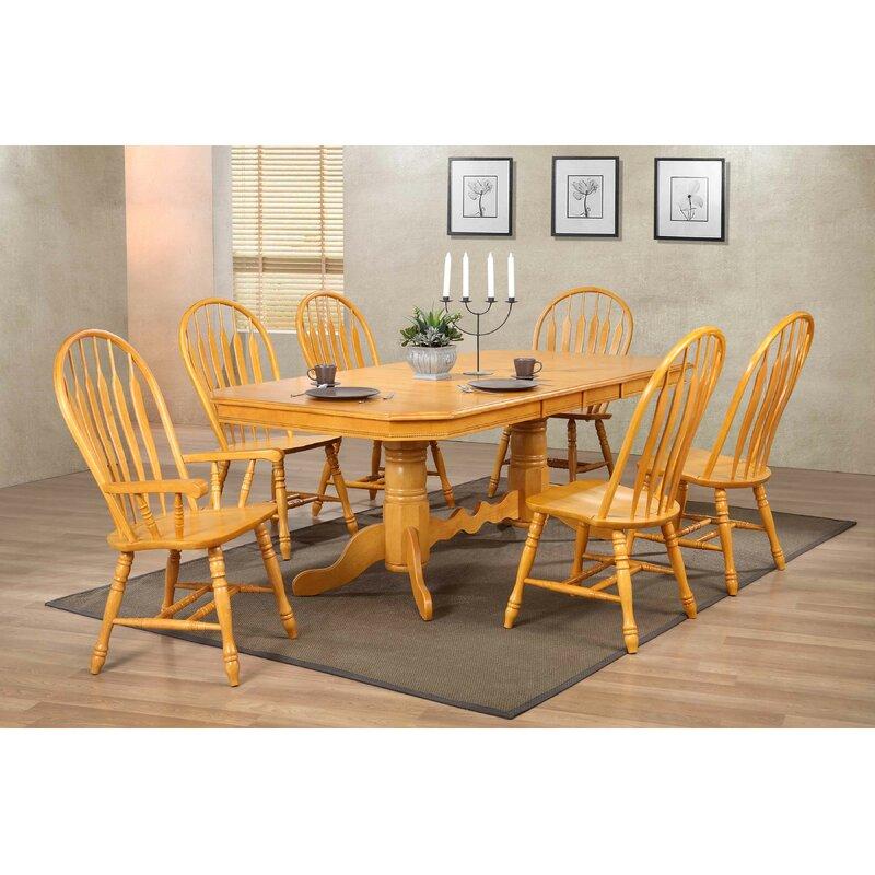 Birch Lane Elick Solid Wood Windsor Back Side Chair Reviews Wayfair