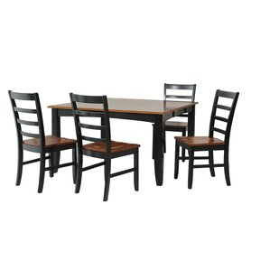 Wabasca 5 Piece Dining Set by TTP Furnish