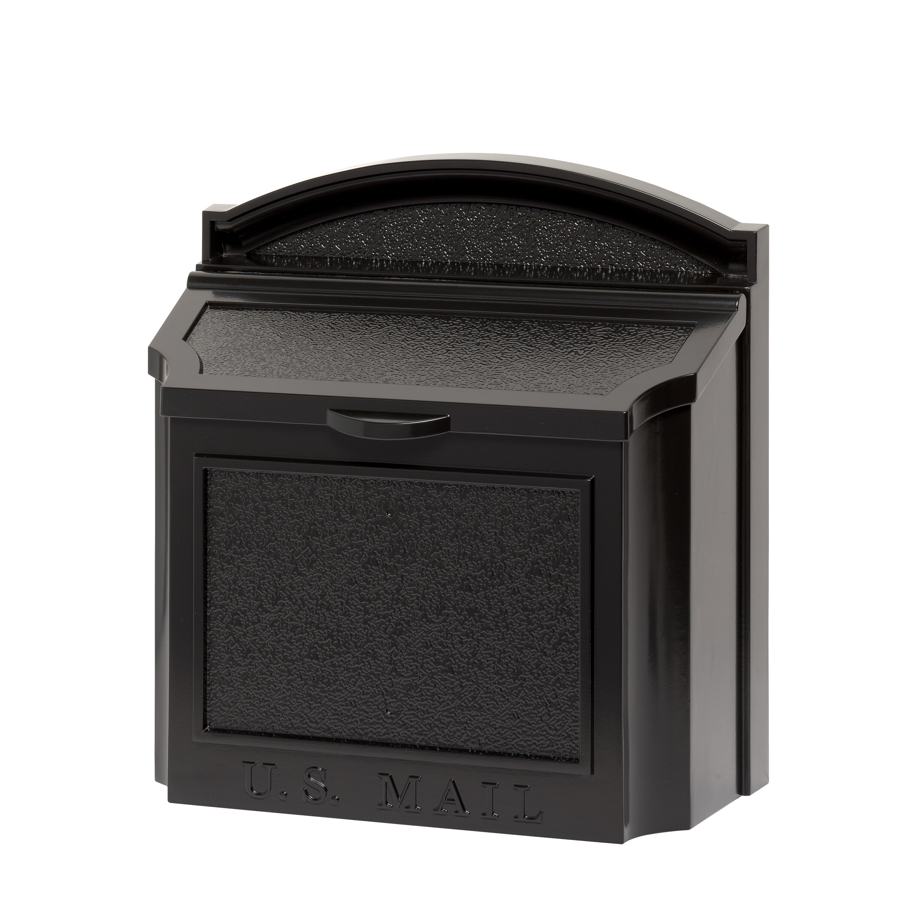Whitehall Products The Large Capacity Locking Wall Mounted Mailbox Reviews Wayfair