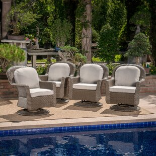 Middletown Patio Chair with Cushions (Set of 4)