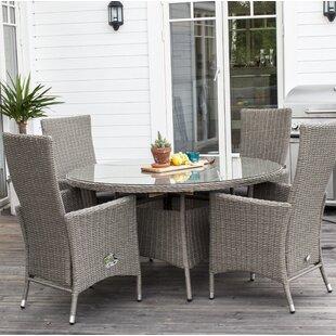 Keya Rattan Dining Table Image