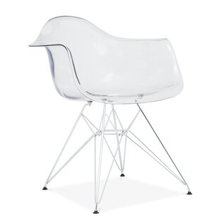 Quast Modern Acrylic Dining Chair by Orre..