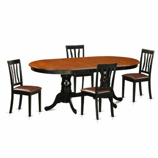 Darby Home Co Germantown 5 Piece Extendable Dining Set