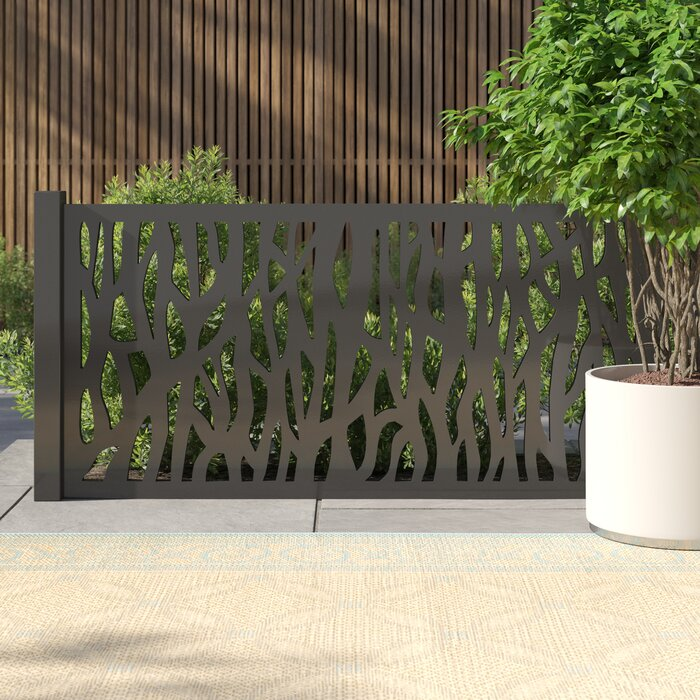 Ebern Designs 2x4-Foot Mayzie Decorative Fencing